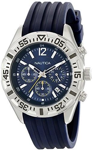 結婚祝い ノーティカMen s ノーティカMen n17667g n17667g NST s 402ステンレススチールMultifunction Watch, エンタメ家具屋台 kaguyatai:4368bd19 --- 1gc.de