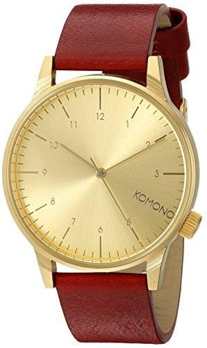 最新の激安 [コモノ] KOMONO 腕時計 [ウィンストン・リーガル] WINSTON REGAL - RED, フクエソン 0a4e24e5
