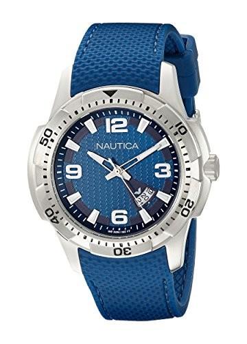 若者の大愛商品 ノーティカMen &aposs nad12522g NCS 16?Analog Display Japanese Quartz Blue Watch, カーマイスター 00d5d4cf
