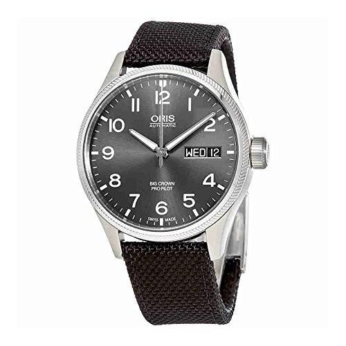 国内最安値! 01 7698 プロパイロット 腕時計 デイデイト 22 オリス 752 5 4164-07 [並行輸入品] 15FC ORIS ビッグクラウン-腕時計メンズ