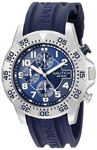 新発売 NSR ノーティカMen nad16512g &aposs 104アナログDisplayアナログクオーツブルーWatch-腕時計メンズ