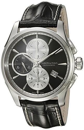 魅了 Hamilton ハミルトン メンズ 時計 腕時計 Mens Jazzmaster Swiss Automatic Stainless Steel Watch, Color:Silver-Toned (Model: H325967, フジサワチョウ a9a15c64