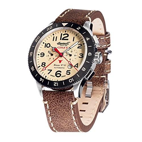 柔らかい Ingersoll Watch in3224crブラウンレザーストラップバンドTan Dial Dial Watch Ingersoll Watch, 巣ごもり通販!老舗和菓子処いと忠:12b4ae2f --- 1gc.de