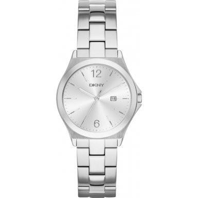 熱い販売 PARSONS Silver Womens DKNY NY2365 Watch-腕時計レディース