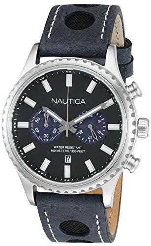 国内初の直営店 02アナログ表示クオーツブルーWatch &aposs NMS ノーティカMen nad18512g-腕時計メンズ