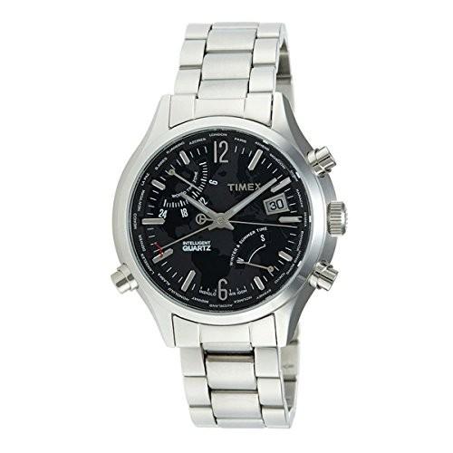 人気商品 Jacob TimeJacob Time t2?N944?Timexワールドタイムメンズ腕時計, 尾西市:48c71a2e --- 1gc.de