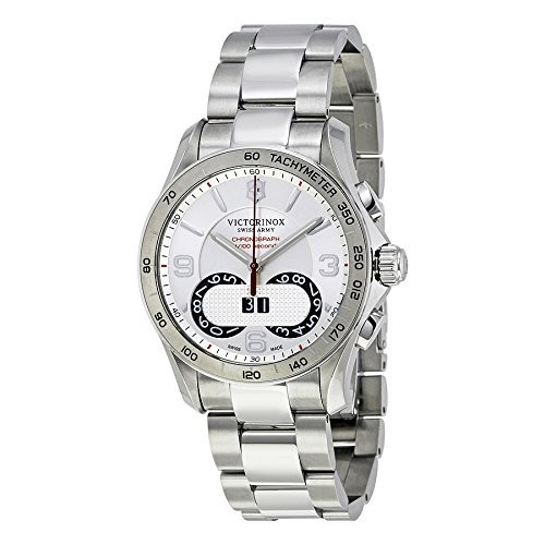 現品限り一斉値下げ! Victorinox Men Classic s Chrono Chrono Classic Color Swiss QuartzステンレススチールCasual Watch , Color : silver-toned (モデル: 241704?), REACH OUT:17a55901 --- schongauer-volksfest.de