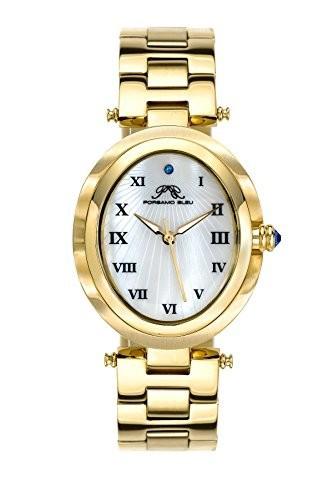 『1年保証』 porsamo porsamo Bleu Bleu South South Sea楕円形ステンレススチールChampagneレディース腕時計105bsso, お見舞い:922dfcc0 --- 1gc.de