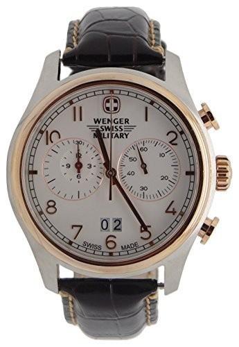 今季ブランド Wenger Swiss Armyローズゴールド「ツェルマット」クロノグラフ腕時計79020, 安心バラ苗の店 768cdcbd
