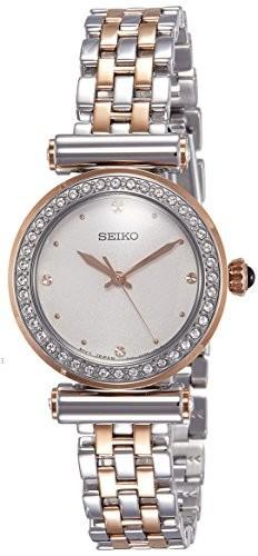 スペシャルオファ Seiko Quartz Ladies 2トーンストーンセットブレスレット腕時計, Kbags オンラインショップ 7588cf3d