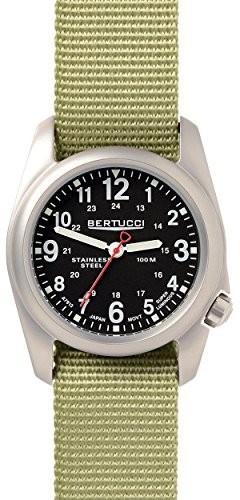 当季大流行 a-2sフィールドWatch Green Black Patrol Nylon - Bertucci-腕時計メンズ