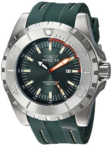 最高級 Invicta Men s s Pro Diver QuartzステンレススチールとポリウレタンCasual Invicta Pro Watch , Color : Green ( Model : 23738?), イットビー:16938e18 --- 1gc.de