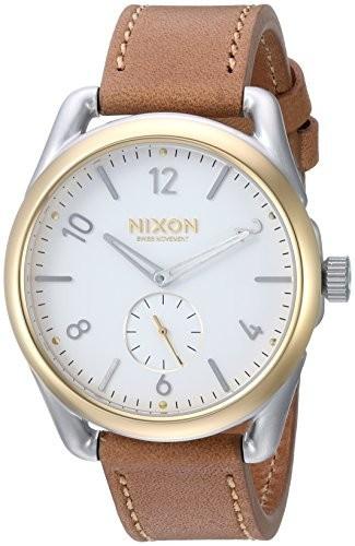 【中古】 Nixon Watch &apos , &aposs : a4592548???00?) ( c39?&apos QuartzステンレススチールandレザーCasual Brown : Men Model Color-腕時計メンズ