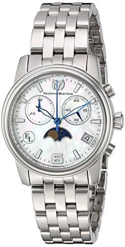 【在庫僅少】 TechnoMarine Women &aposs (モデル: &apos : &apos Eva Longoria &apos QuartzステンレススチールCasual Watch , Color : silver-toned (モデル: tm-41601, COLOR WARDROBE:63196e2e --- 1gc.de