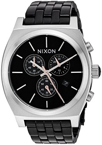 格安販売中 Nixon Men &aposs &apos Time Teller Chrono ( &apos QuartzステンレススチールCasual Men &aposs Watch , Color : Black ( Model : a9722541???00?), キカイチョウ:c637132f --- 1gc.de