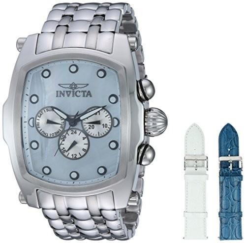2019年新作入荷 Invicta Mens Lupah Lupah Quartz Stainless Steel Watch, Casual Stainless Watch, Color:Silver-Toned (Model: 23431), タウンランドC:eea0e46b --- 1gc.de
