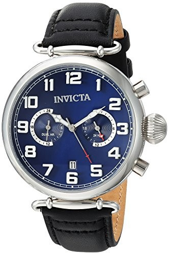 最高の品質 Invicta Men s s Aviator QuartzステンレススチールandレザーCasual Watch Color , Color Model : Black ( Model : 22979?), ボヌール:8e15eac0 --- 1gc.de