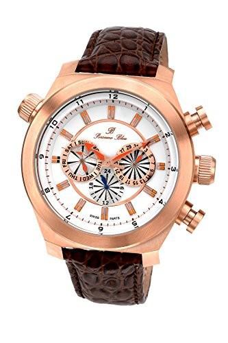 【日本製】 porsamo Bleu Sydney Genuine Leather Rose Brown Tone Rose & Leather Brown Men s Watch 161?cSYl, アソウマチ:0b147d4f --- 1gc.de