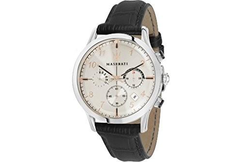 最安値挑戦! MASERATI RICORDO メンズ 腕時計42mm クロノグラフ, MikimotoBeans Store 9c926444