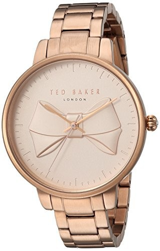 高級感 テッド・ベイカーWomen s Brook Quartz and stainless-steel-plated Casual Watch , Color :ローズgold-toned (モデル: te15197002?), 山中町 af0f3ac5