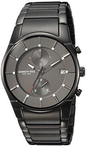 【楽天ランキング1位】 Kenneth Cole New York Men Men s QuartzステンレススチールCasual Kenneth Watch New , Color :グレー(モデル: kc15176001?), 熱販売:457b201f --- 1gc.de