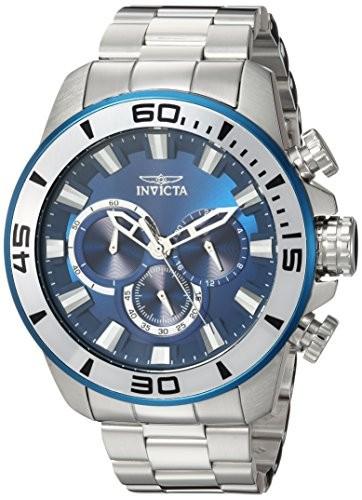 最高級のスーパー Invicta Quartz Mens Pro Diver Invicta Quartz Pro Stainless Steel Casual Watch%カンマ% Color:Silver-Toned (Model: 22586), 毛皮製造ファー*オールール:1055086b --- 1gc.de