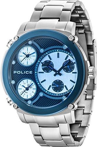人気定番の TITAN Police Mens Wristwatch PL14830JSTBL.02M-腕時計メンズ