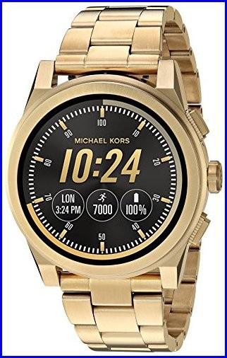 【限定セール!】 Michael Kors Men s Goldtone Grayson Smartwatch ゴールド, 彩り屋 1f882add