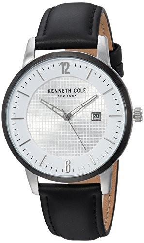 春夏新作モデル Kenneth Cole New York QuartzステンレススチールandレザーCasual Watch , Color : Black ( Model : kc50179001?), golfing Dolphin 4bc14ecd