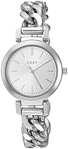 【70%OFF】 DKNY Casual Womens Womens Ellington Quartz Stainless Steel Casual Watch, Color:Silver-Toned Color:Silver-Toned (Model: NY2664), あったらいーな本舗:c2ef6f8e --- 1gc.de