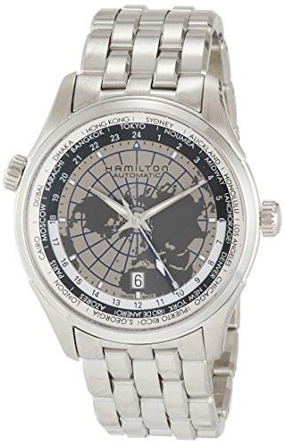 楽天 [ハミルトン]HAMILTON 腕時計 腕時計 ジャズマスター 機械式自動巻 GMT メンズ H32605181 メンズ【並行輸入品 ジャズマスター】, マークスミュージック:4c423dd7 --- schongauer-volksfest.de