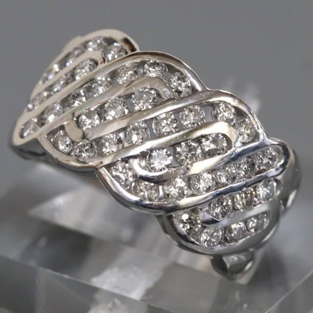 格安即決 Pt900 ダイヤモンド ダイヤモンド Pt900 ファッション ファッション リング(D1.00,10.8g,#12), トイセルタウン:a863641c --- chevron9.de