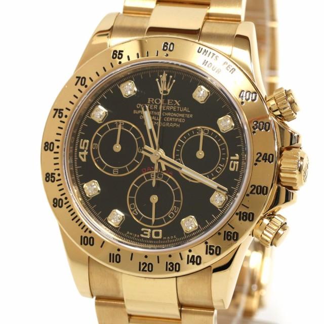 海外並行輸入正規品 ロレックス デイトナ(116528G) ランダム コスモグラフ-腕時計メンズ