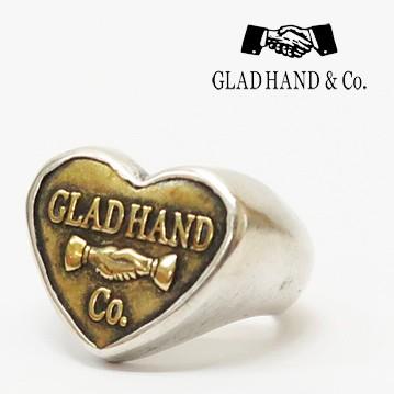 国内最安値! GLAD HAND グラッドハンド ボタンリング HEART SMALL シルバー925 銀 オリジナルチェンジボタン 真鍮 ブラス【2019年秋冬新作】, TRIVANDRUM f0ab5d36