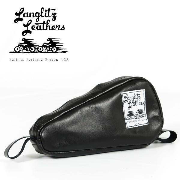 格安SALEスタート! ラングリッツレザーズ Langlitz Leathers ヴィンテージ H-D ツールバッグ Vintage H-D Tool Bag レザー ポーチ 革 バイク Harley Davidso, かばんのサンペイ bbee8387