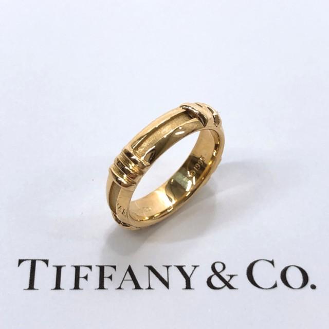 最安値で  TIFFANY&Co. レディース ティファニー C アトラス ゴールド リング・指輪 K18イエローゴールド C ゴールド レディース, オオエマチ:79f103cd --- frauenfreiraum.de
