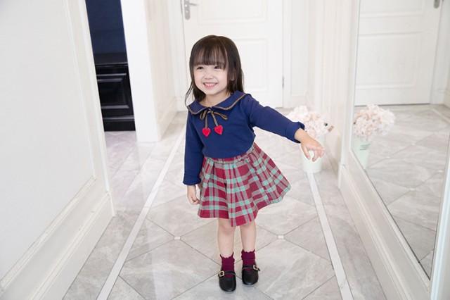 b85913b7c3b06 子供服 ニット 2点セット ィガン+スカート 女の子 子ども服 キッズ 女児 秋冬 上下