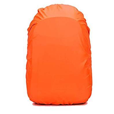 【送料無料・新品】リュックカバー レインカバー 雨よけ ザックカバー 2倍防水 M (25-35L)オレンジ MYR
