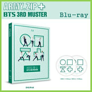 【K-POP・韓流】 【K-POP・韓流】 防弾少年団 BTS 3rd MUSTER [ARMY ZIP+]  Blu-ray(8809269507693)(8809269507693)|Wowma!(ワウマ)