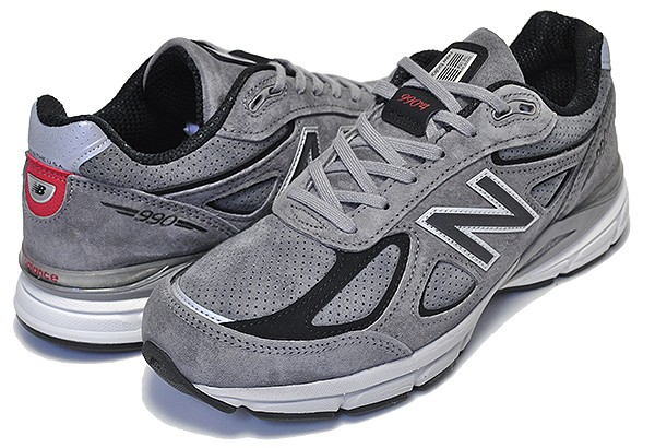 check out ae288 30eab 【送料無料 ニューバランス 990V4】NEW BALANCE M990SG4 MADE IN U.S.A.【メンズ スニーカー グレー NB】|au  Wowma!(ワウマ)