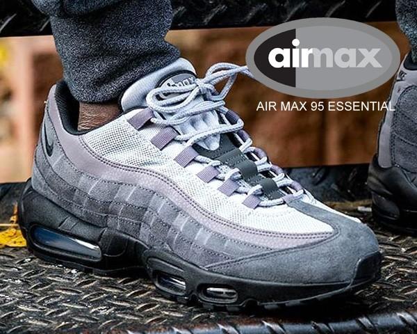 【ナイキ エアマックス 95 エッセンシャル】NIKE AIR MAX 95 ESSENTIAL anthraciteblack wolf grey at9865 008 スニーカー AM95 グラデ|au Wowma!(ワウマ)