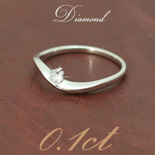 値頃 品質保証書 金属アレルギー 日本製 リング ダイヤモンド ファッションリング プラチナ900 母の日 ギフト 一粒-指輪・リング