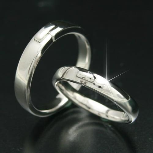 【送料無料(一部地域を除く)】 マリッジリング k10 日本製 金属アレルギー 母の日 2本セット イエローゴールド/ホワイトゴールド/ピンクゴールド 結婚指輪 品質保証書-指輪・リング