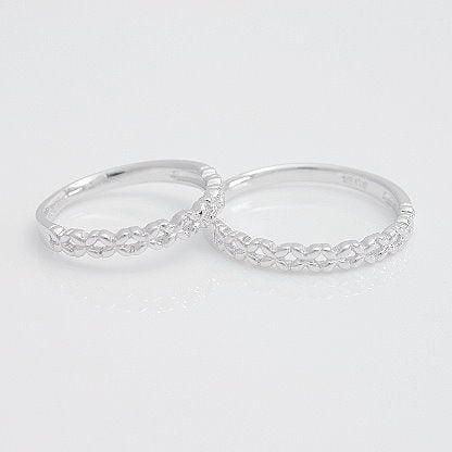 男女兼用 結婚指輪 マリッジリング プラチナ900 2本セット 品質保証書 金属アレルギー 日本製 母の日 ギフト, 羽村市 c63dbc1e