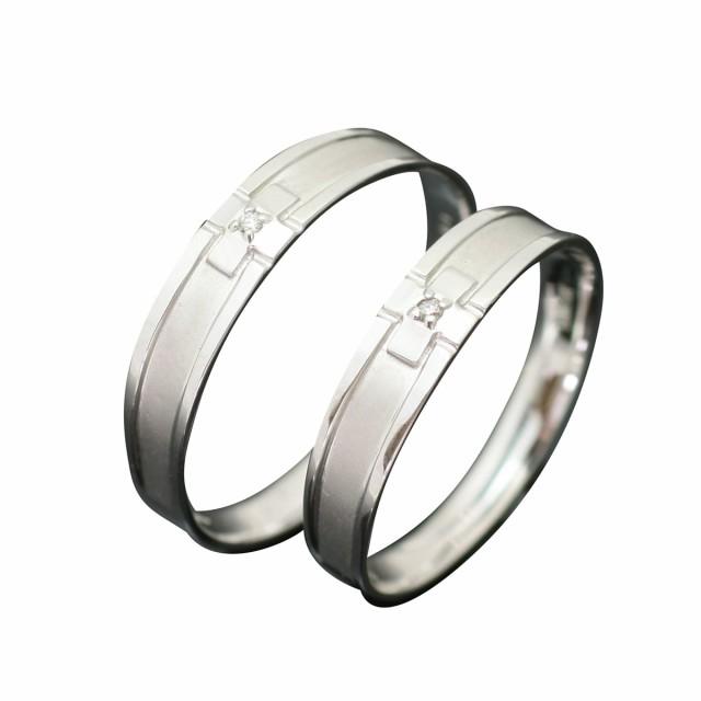 愛用  結婚指輪 マリッジリング プラチナ900 ダイヤモンド 2本セット 品質保証書 金属アレルギー 日本製 母の日 ギフト, 千代田区 c84ad005