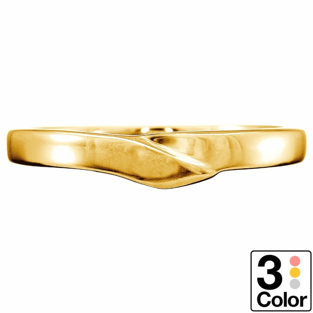 適切な価格 日本製 ファッションリング リング 母の日 地金 k18 イエローゴールド/ホワイトゴールド/ピンクゴールド 品質保証書 金属アレルギー ギフ-指輪・リング
