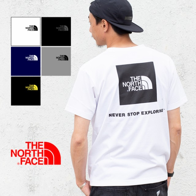 a69a9a96a57b 【THE NORTH FACE ザノースフェイス】S/S SQUARE LOGO TEE ショートスリーブ
