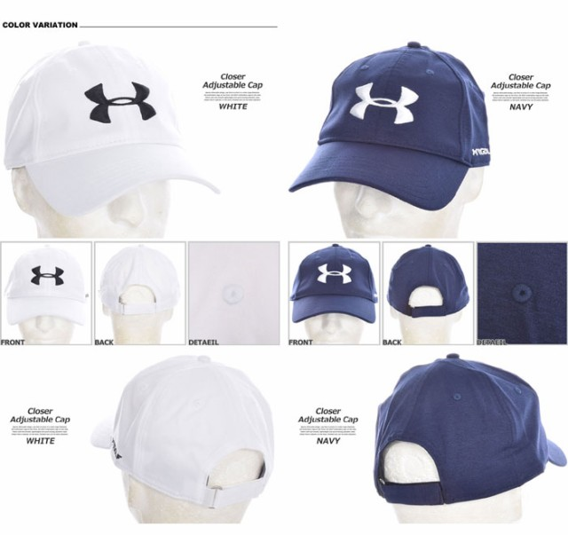 huge selection of 81141 86918 アンダーアーマー UNDER ARMOUR 帽子 メンズキャップ メンズウエア ゴルフウェア クローザー アジャスタブル キャップ USA直