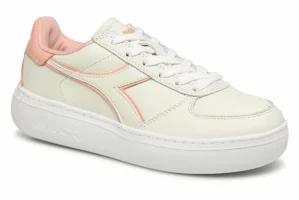 【ご予約品】 White レディーススニーカー Trainers Elite Wide White/Dus Diadora Diadora I-靴・シューズ