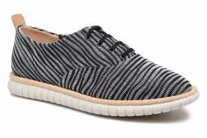 正規通販 Clarks レディースその他 Clarks Lace-up shoes MZT Blithe Blue Navy Print, デザインアクセス 681cc056